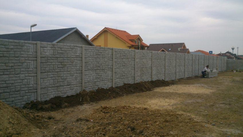 Prečo využiť betónový plot?