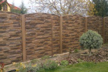 Výroba betónových plotov, montáž oplotenia