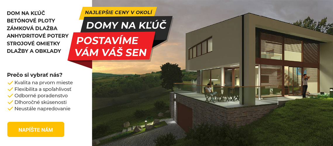 REMU - stavba domu na kľúč